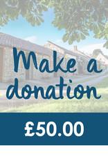 Make a Donation - £50.00