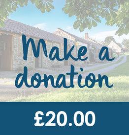 Make a Donation - £20.00