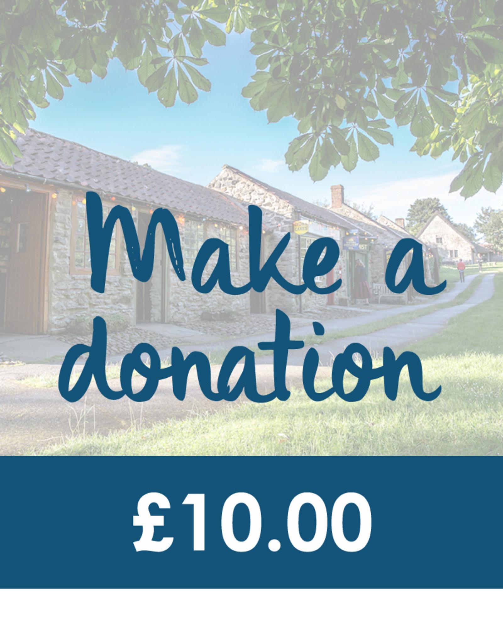 Make a Donation - £10.00