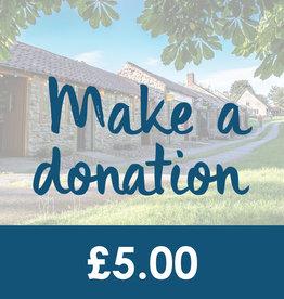 Make a Donation - £5.00