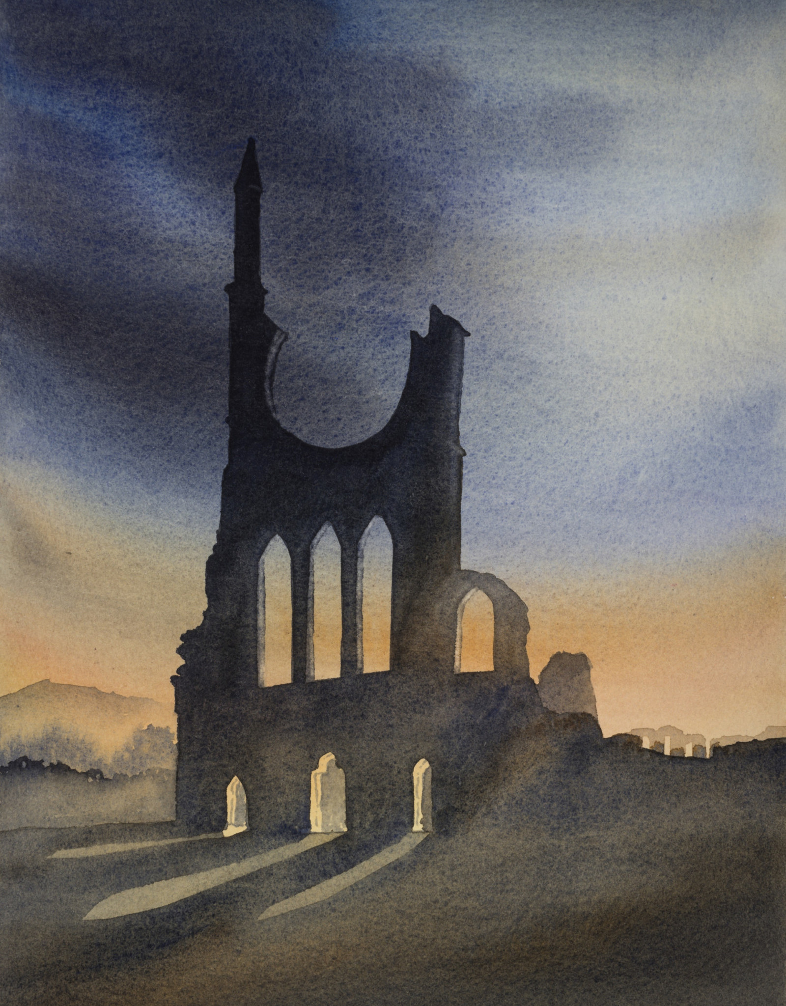 Byland Abbey West Front