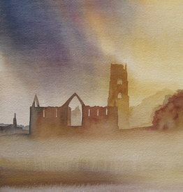 Fountains Abbey, Evening