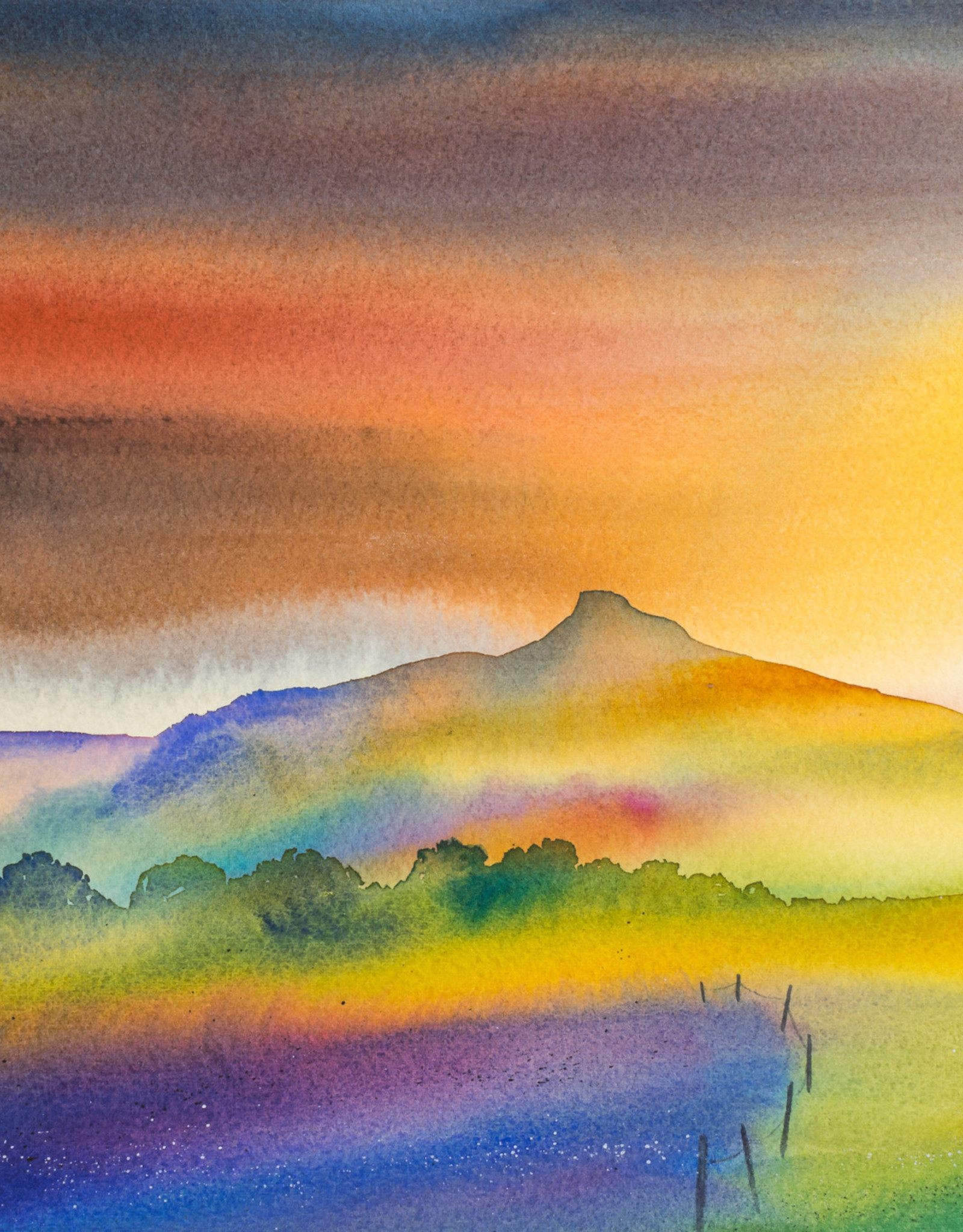 Roseberry Topping, Dawn