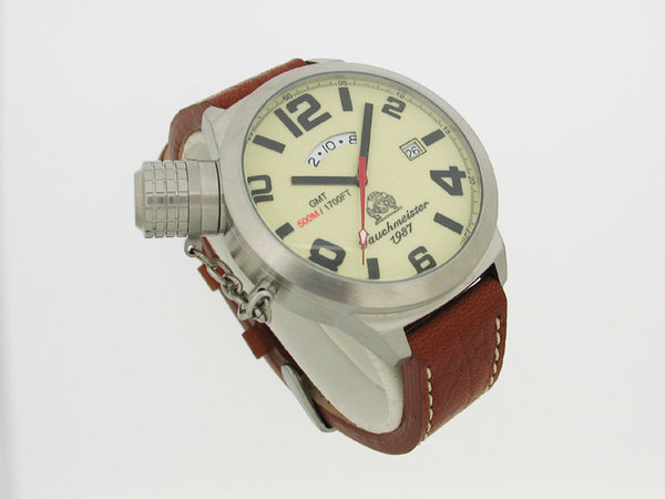 Tauchmeister Tauchmeister SWISS-GMT XL Retro-Diving T0068