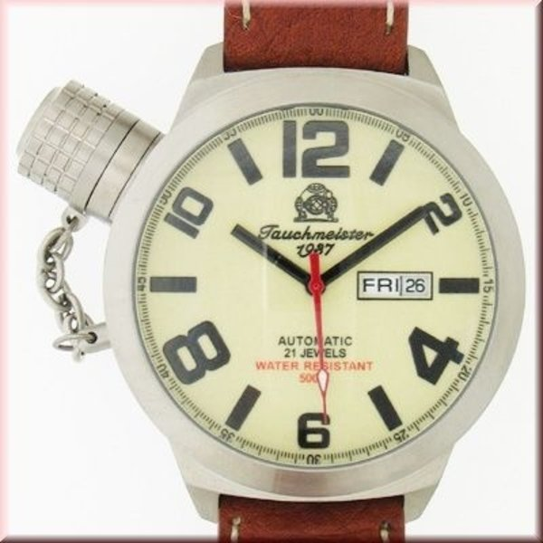 Tauchmeister Tauchmeister German Day-Date Automatic watch T0064
