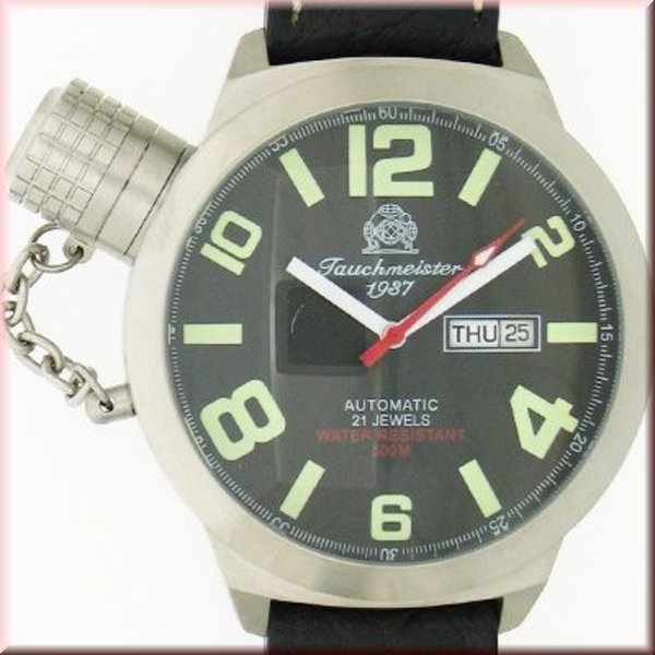 Tauchmeister Tauchmeister German Day-Date Automatic watch T0063