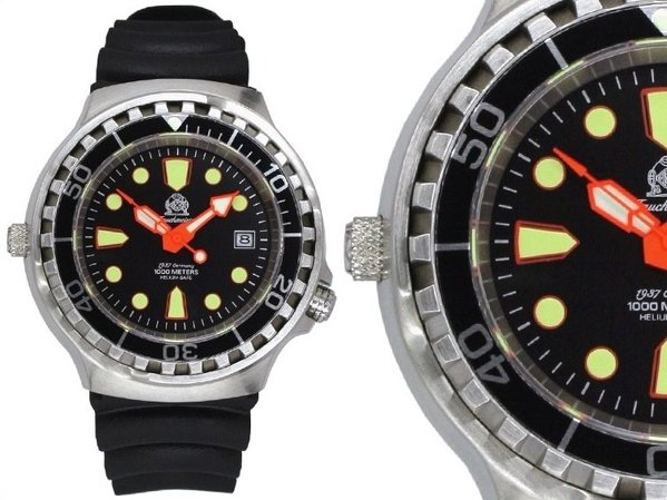 Tauchmeister Tauchmeister Professional Diver Watch 1000m T0079