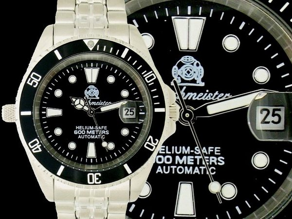 Tauchmeister Tauchmeister Automatic Profi scuba diving watch T0098