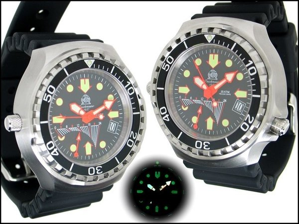 Tauchmeister Tauchmeister Profi diving watch 200m T0277