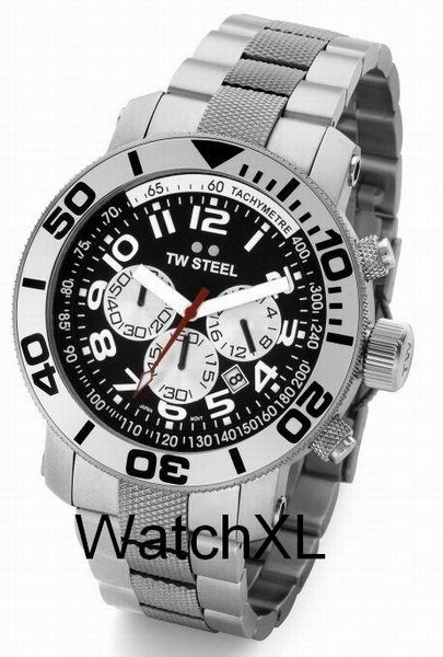 TW Steel TW Steel diverswatch 45mm steel band TW70