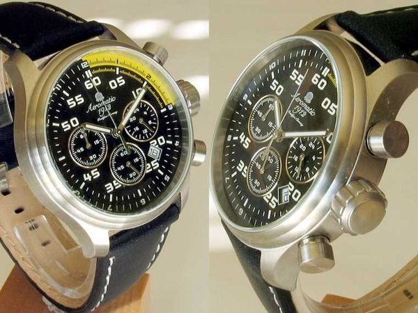 Aeromatic Aeromatic Pilot chronograph watch A1203