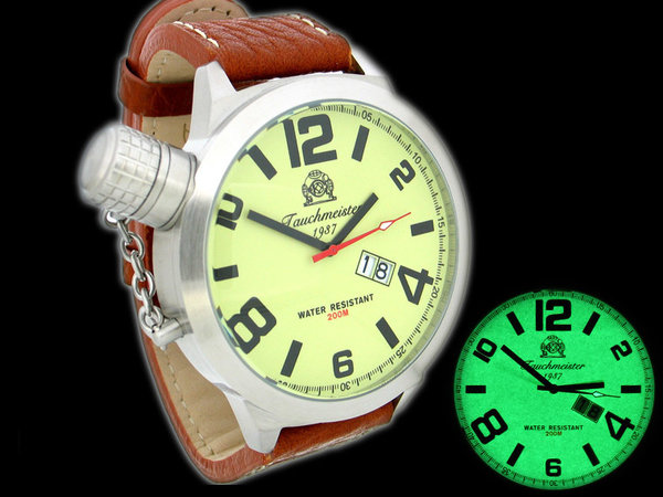 Tauchmeister Tauchmeister XXL heavy Military Diving watch 52 mm T0149