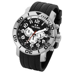 TW Steel divers watch 45mm rubber band TW72
