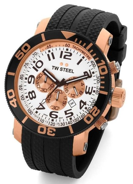TW Steel TW Steel Taucheruhr 48mm rose gold plattiert TW77