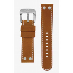 TW Steel 22mm brown leather strap TWB23