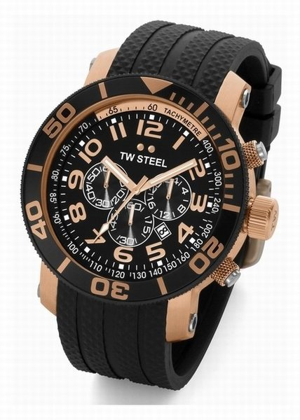 TW Steel TW Steel divers watch 45mm rose gold plated TW93