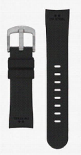 TW Steel TW Steel 22mm black rubber strap TWB99