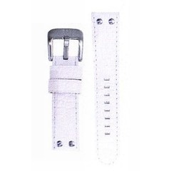 TW Steel 22mm white croco leather strap TWB27