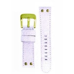 TW Steel 22mm white croco leather strap TWB29