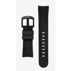 TW Steel 24mm black rubber watch strap TWB93