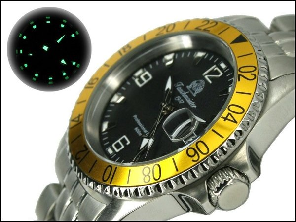 Tauchmeister Tauchmeister Professional Diver 60ATM GMT T0204