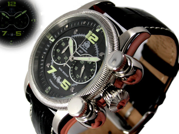 Tauchmeister Tauchmeister Retro Chronograph watch T0177