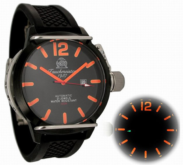 Tauchmeister Tauchmeister XL Automatic Military Diving Watch T0134PU