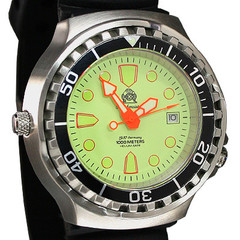 Tauchmeister Profi diver watch 1000m T0228