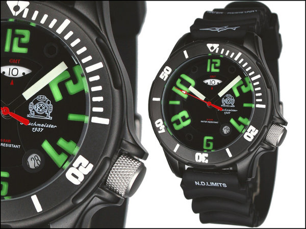 Tauchmeister Tauchmeister Profi diver watch 200m T0239