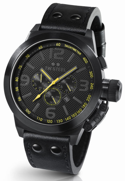 TW Steel TW Steel TW901 Cool Black Colour watch yellow 50mm