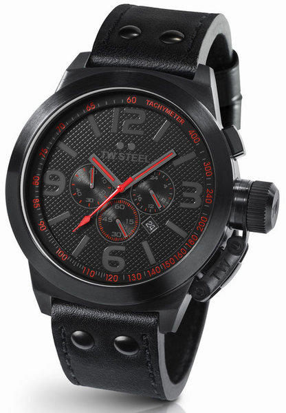 TW Steel TW Steel TW903 Cool Black Colour watch red 50mm