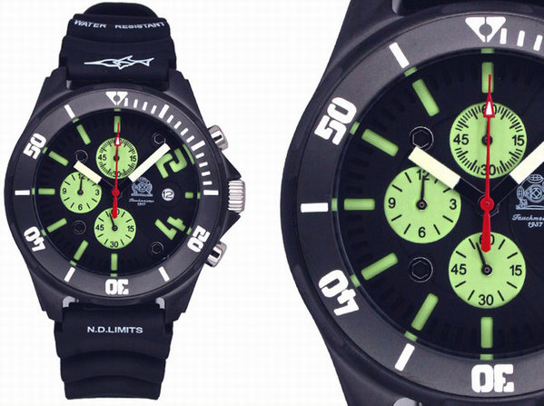 Tauchmeister Tauchmeister Chronograph Diver Watch 200m T0242