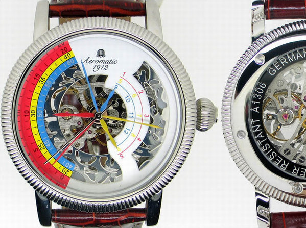 Aeromatic Aeromatic Mechanische Herrenuhr A1306