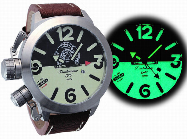 Tauchmeister Tauchmeister 53mm XXL mens watch T0233