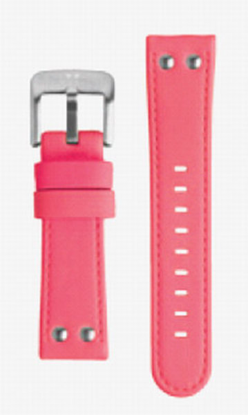 TW Steel TW Steel 24mm pink luminous leather strap TWB52