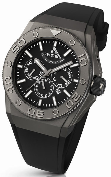 TW Steel TW Steel CE5001 CEO Diver Multifunction Automatik Uhr 48mm