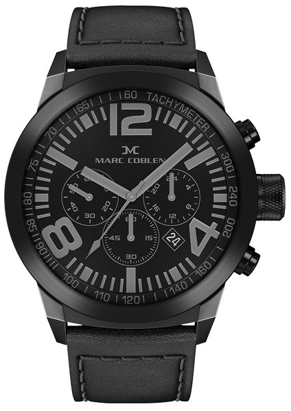 Marc Coblen Marc Coblen MC50B2 Chronograph Herrenuhr 50mm