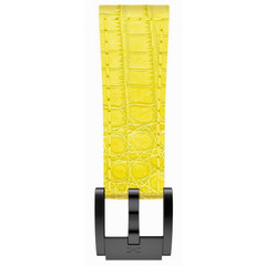 Marc Coblen MCSLB20820 yellow leather watch strap