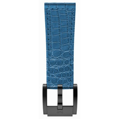 Marc Coblen MCSLB2017 blue leather watch strap