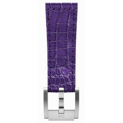 Marc Coblen MCSLS21129 purple leather watch strap