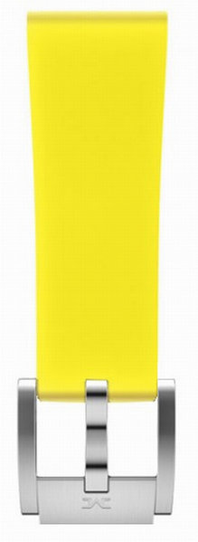 Marc Coblen TW Steel MCSRS7404C yellow silicon watch strap