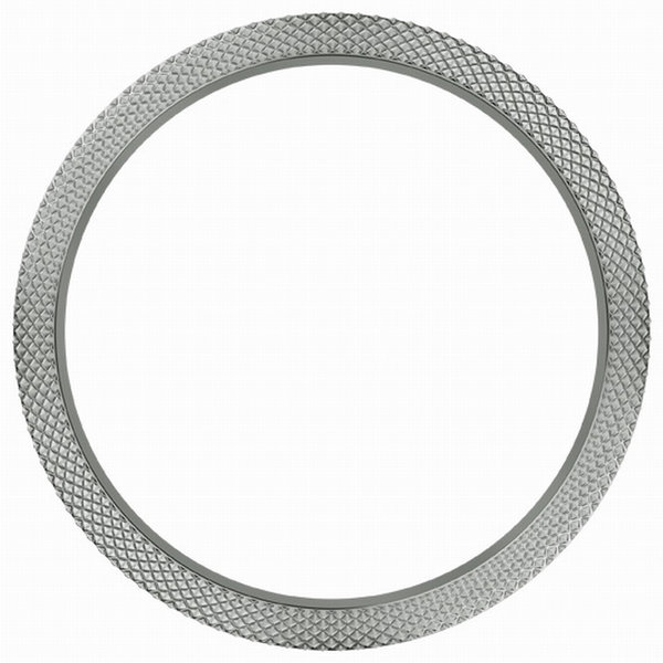 Marc Coblen Marc Coblen bezel hammered steel 50 mm MCB50SH