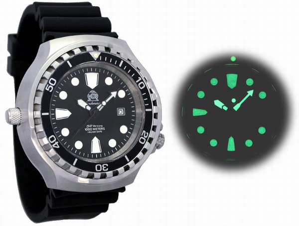 Tauchmeister Tauchmeister T0254 Diver Craft 1000m automatic XXL watch