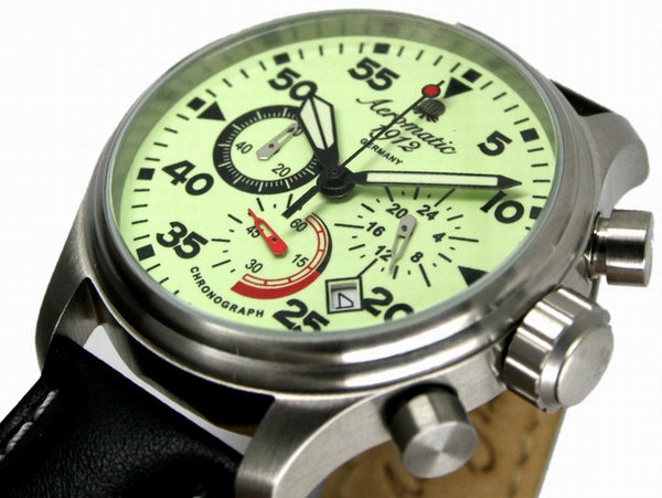 Aeromatic Aeromatic A1342 Flieger Chronograph Uhr