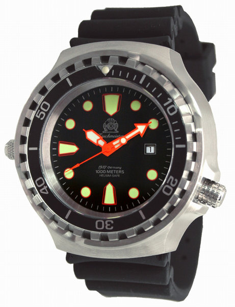 Tauchmeister Tauchmeister T0255 Diver Craft 1000m automatic XXL watch