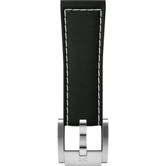 TW Steel MC MCSLS1691 black leather watch strap