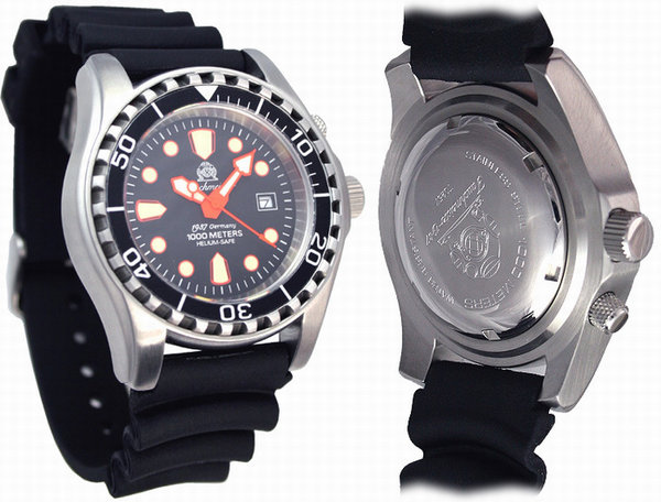 Tauchmeister Tauchmeister T0259 Combat Diver 1000m watch