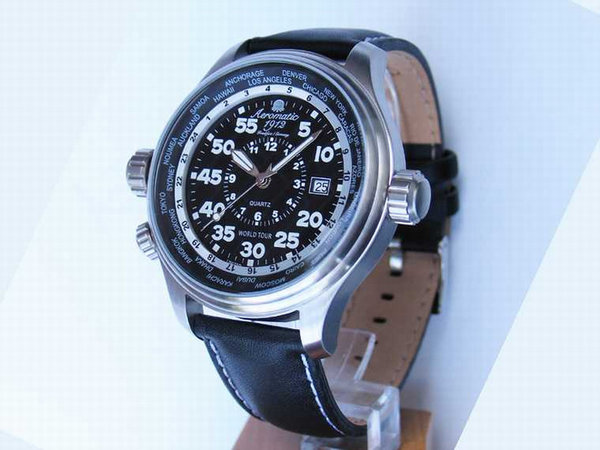 Aeromatic Aeromatic A1200 World Tour Pilot Defender Uhr