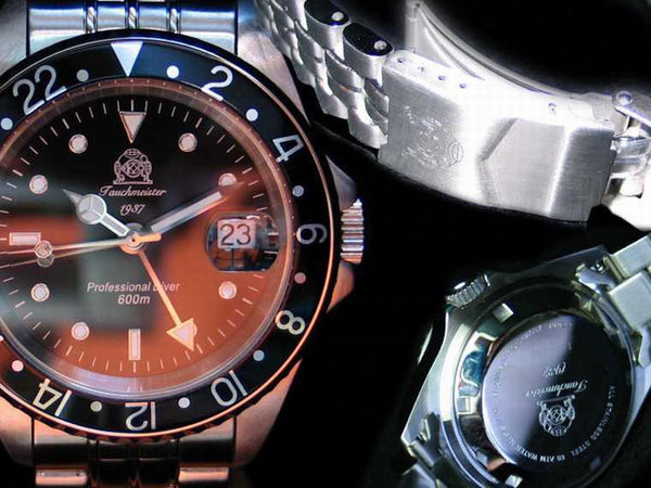 Tauchmeister Tauchmeister T0021 Diver watch 60 ATM 40 mm
