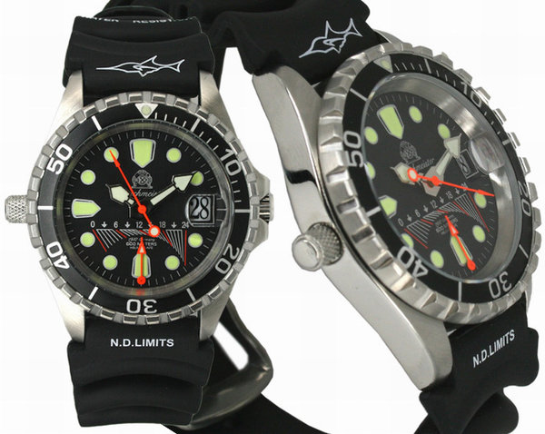 Tauchmeister Tauchmeister T0095PU Divers watch 60 ATM